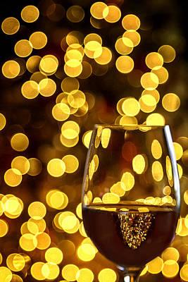 Priska Wettstein Pink Hues Royalty Free Images - Holiday Cheers Royalty-Free Image by Karen Celella