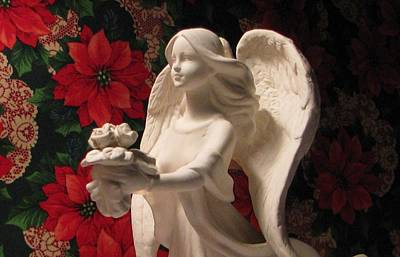 Holiday Childrens  Angel  Art Print