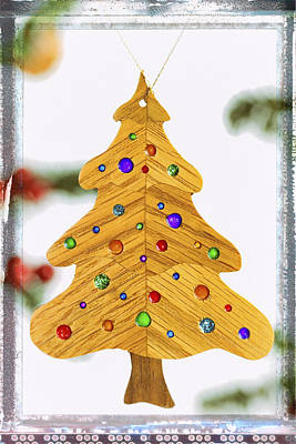 Photograph - Christmas Tree Holiday Image Art by Jo Ann Tomaselli