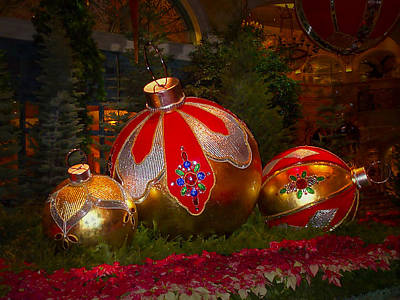 Holiday Decorations Art Print by Lucinda Walter