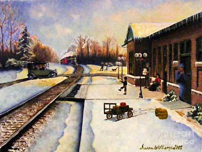 Holiday Depot 1932 Art Print