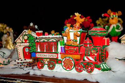 Photograph - Holiday Express by Melinda Ledsome