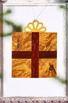 Photograph - Gift Box Holiday Image Art by Jo Ann Tomaselli