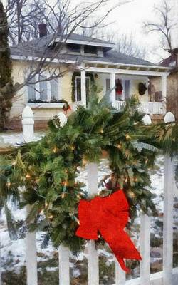 Photograph - Holiday In The Neighborhood by Michelle Calkins