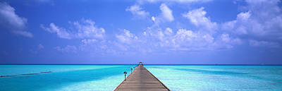 Holiday Island Maldives Art Print by Panoramic Images