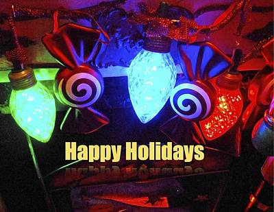 Photograph - Holiday Lights by Joan Reese