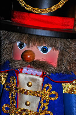 Photograph - Holiday Nutcracker by Mike Martin