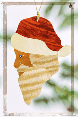 Photograph - Santa Claus Holiday Image Art by Jo Ann Tomaselli