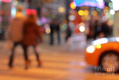 Photograph - Holiday Street by Charline Xia