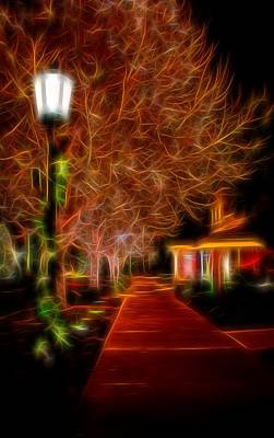 Photograph - Holiday Stroll by Diane Alexander