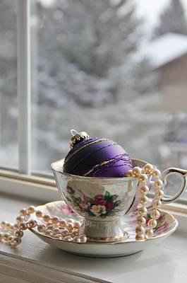 Photograph - Holiday Tea by Diane Alexander
