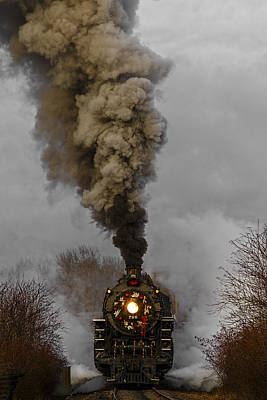 Photograph - Holiday Train by Wes and Dotty Weber