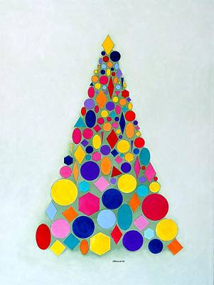 Holiday Tree #1 Art Print