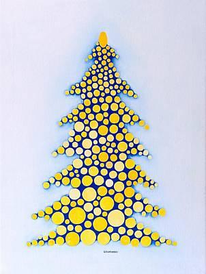 Holiday Tree #2 Art Print