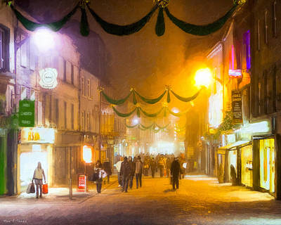 Photograph - Holidays In Beautiful Galway by Mark E Tisdale