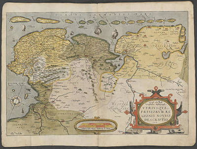 Cartography Photograph - Holland by British Library