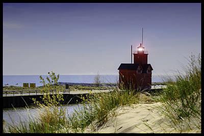 Photograph - Holland Harbor Light  by LeeAnn McLaneGoetz McLaneGoetzStudioLLCcom
