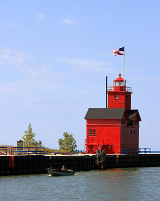 Photograph - Holland Harbor Lighthouse by George Jones