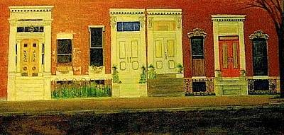 Painting - Hollins Square by G Cuffia