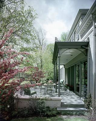 Midwest Photograph - Hollis Baker's Patio by Pedro E. Guerrero