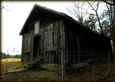 Holloway Township Historic Site Nc Usa Print by Kim Galluzzo Wozniak