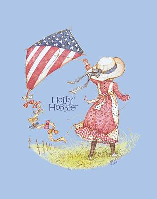 Children Book Digital Art - Holly Hobbie - Americana by Brand A