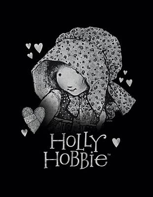 Children Book Digital Art - Holly Hobbie - Holly by Brand A