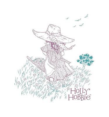 Children Book Digital Art - Holly Hobbie - In The Field by Brand A