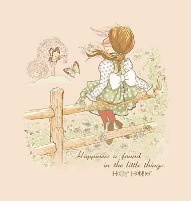 Children Book Digital Art - Holly Hobbie - Little Things by Brand A