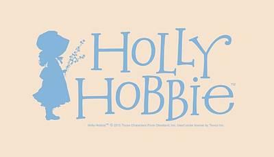Children Book Digital Art - Holly Hobbie - Logo by Brand A