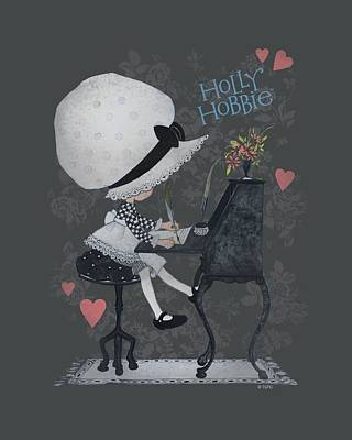 Children Book Digital Art - Holly Hobbie - Love Letters by Brand A