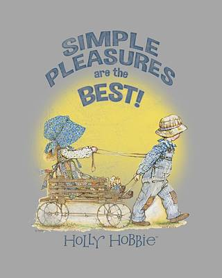 Children Book Digital Art - Holly Hobbie - Simple Pleasures by Brand A