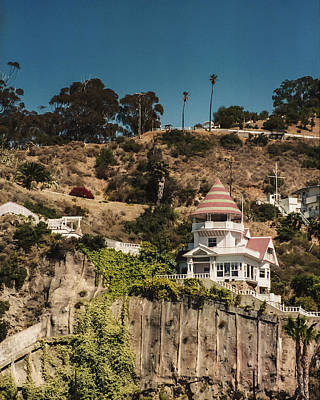 Photograph - Holly House Catalina Island by Lee Kirchhevel