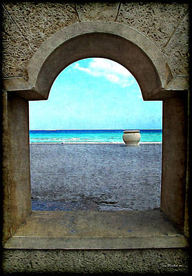 Photograph - Hollywood Beach Arch by Joan  Minchak