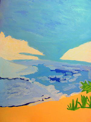 Painting - Hollywood Beach View Two by Amy Bradley