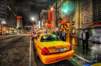 Photograph - Hollywood Boulevard by Yhun Suarez
