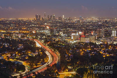 Photograph - Hollywood Bowl Overlook by Shishir Sathe