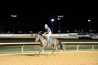 Racing Photograph - Hollywood Casino At Charles Town Races - 121224 by DC Photographer
