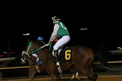 Horses Photograph - Hollywood Casino At Charles Town Races - 121231 by DC Photographer