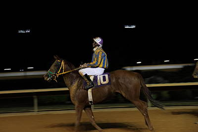 Races Photograph - Hollywood Casino At Charles Town Races - 121232 by DC Photographer