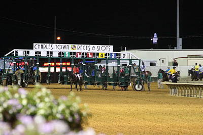 Hollywood Casino At Charles Town Races - 121235 Print by DC Photographer
