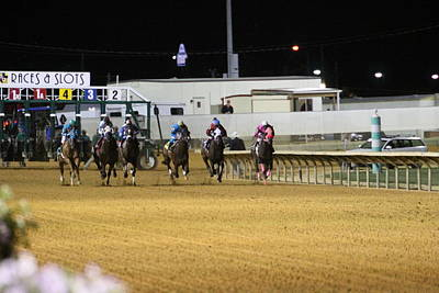 Ponies Photograph - Hollywood Casino At Charles Town Races - 121238 by DC Photographer