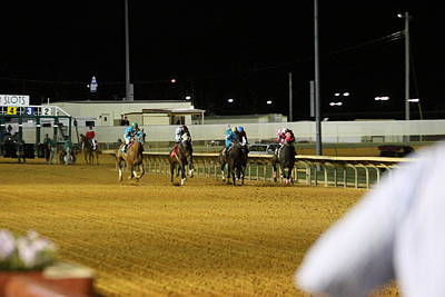 Hollywood Casino At Charles Town Races - 121239 Print by DC Photographer