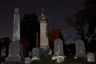 Final Resting Place Photograph - Hollywood Cemetery by Jemmy Archer