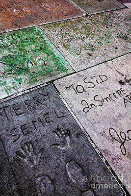 Photograph - Hollywood Chinese Theatre Terry Semel 5d29037 by Wingsdomain Art and Photography