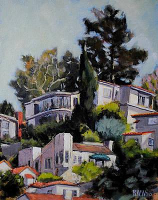 Hollywood Hills Art Print
