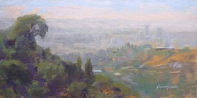 Painting - Hollywood Hills by Sharon Weaver