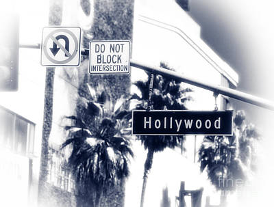 Photograph - Hollywood Intersection by John Rizzuto
