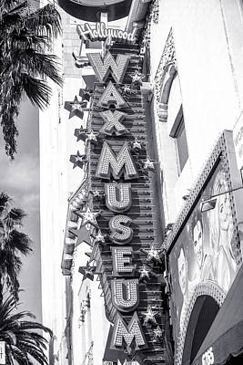 Arcitecture Photograph - Hollywood Landmarks - Hollywood Wax Museum by Art Block Collections
