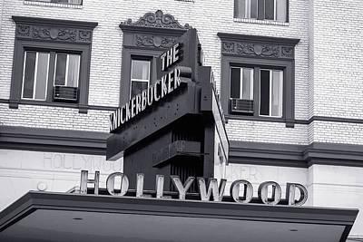 Hollywood Landmarks - The Knickerbocker Art Print by Art Block Collections